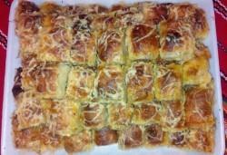 Вкусни банички на хапки с кашкавал, масло и гауда 1 или 2 килограма за събития и семейни празници от Работилница за вкусотии РАВИ! - Снимка