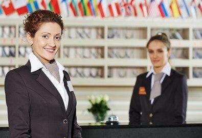Развийте професионалните си умения с обучение за Администратор в хотелиерството и сертификат от Център за професионално обучение към Интелект Кооп ЕООД - Снимка
