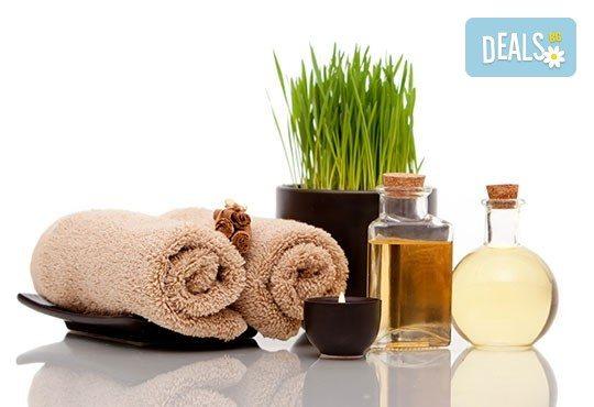 80 минути релакс! Болкоуспокояващ шиацу масаж на цяло тяло с билкови масла, масаж на глава и рефлексотерапия от масажно студио Frictio! - Снимка 4