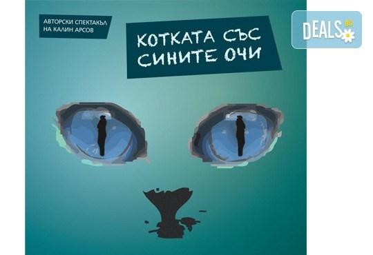 """Гледайте Котката със сините очи на 11. 03. или 12.03, от 19:00 ч, в """"Нов театър"""" в НДК, билет за един! - Снимка 1"""