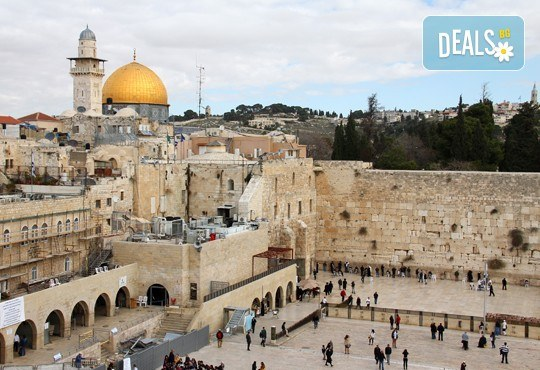 Израел - древност и съвремие: 3 нощувки със закуски и вечери, самолетен билет, летищни такси, трансфери и богата програмата! - Снимка 3