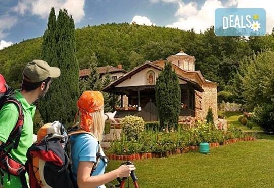 За 1 ден до Пирот, Темски и Суковски манастир: транспорт, водач и програма