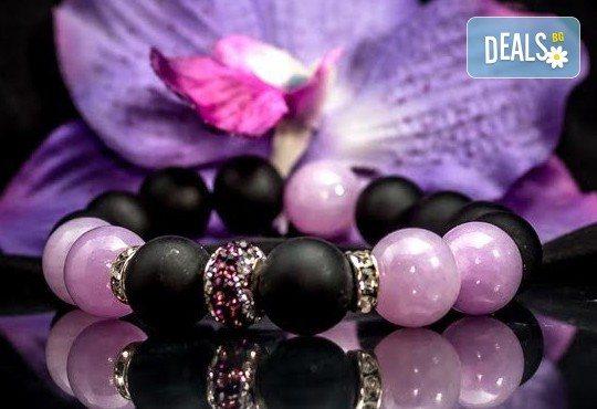 Подарък за любимата! Ръчно изработени гривни от естествени камъни и бонус: специална подаръчна кутийка от TSVjewelry - Снимка 1