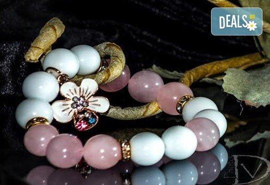 Подарък за любимата! Ръчно изработени гривни от естествени камъни и бонус: специална подаръчна кутийка от TSVjewelry - Снимка 4