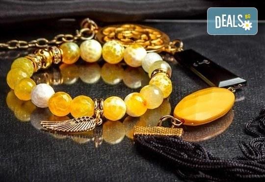 Подарък за любимата! Ръчно изработени гривни от естествени камъни и бонус: специална подаръчна кутийка от TSVjewelry - Снимка 6