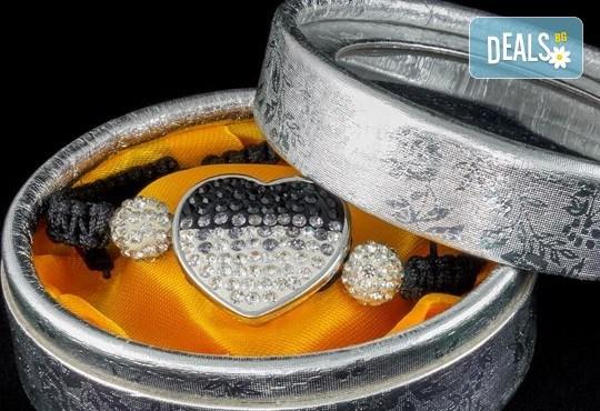 Подарък за любимата! Ръчно изработени гривни от естествени камъни и бонус: специална подаръчна кутийка от TSVjewelry - Снимка 7