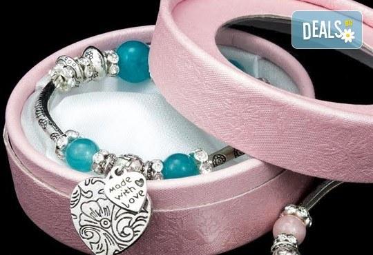 Подарък за любимата! Ръчно изработени гривни от естествени камъни и бонус: специална подаръчна кутийка от TSVjewelry - Снимка 8