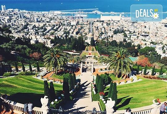 Посетете Светите земи през април или май! Екскурзия до Израел с 5 нощувки, закуски и вечери, самолетен билет, посещение на Йерусалим, Витлеем, Мъртво море, Хайфа и Назарет! - Снимка 1