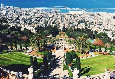 Посетете Светите земи през април или май! Екскурзия до Израел с 5 нощувки, закуски и вечери, самолетен билет, посещение на Йерусалим, Витлеем, Мъртво море, Хайфа и Назарет! - Снимка