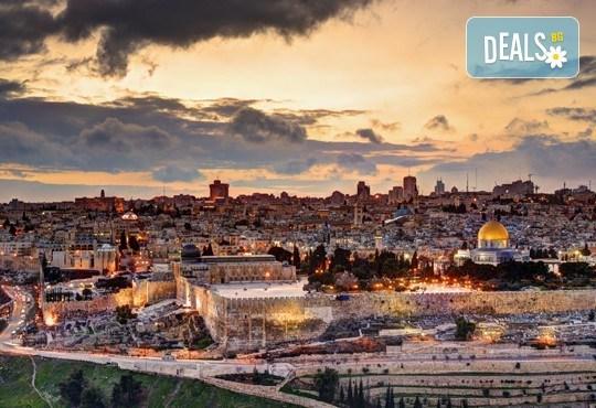 Посетете Светите земи през април или май! Екскурзия до Израел с 5 нощувки, закуски и вечери, самолетен билет, посещение на Йерусалим, Витлеем, Мъртво море, Хайфа и Назарет! - Снимка 3
