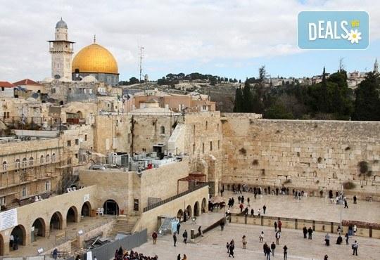 Посетете Светите земи през април или май! Екскурзия до Израел с 5 нощувки, закуски и вечери, самолетен билет, посещение на Йерусалим, Витлеем, Мъртво море, Хайфа и Назарет! - Снимка 4