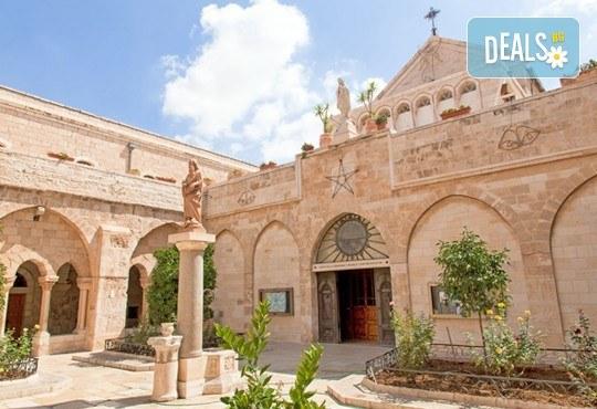 Посетете Светите земи през април или май! Екскурзия до Израел с 5 нощувки, закуски и вечери, самолетен билет, посещение на Йерусалим, Витлеем, Мъртво море, Хайфа и Назарет! - Снимка 2