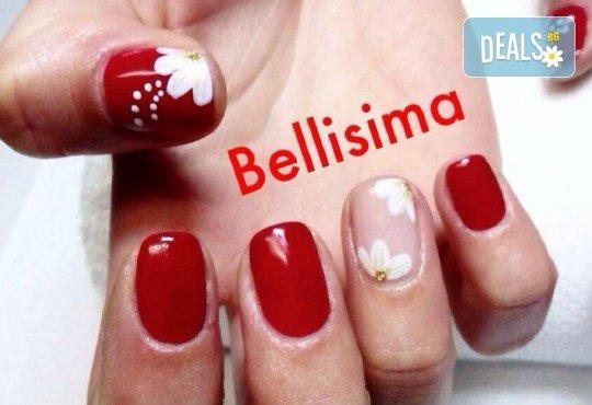 Стилен и красив маникюр с дълготраен гел лак на SNB или Gelish от салон Bellisima! - Снимка 4