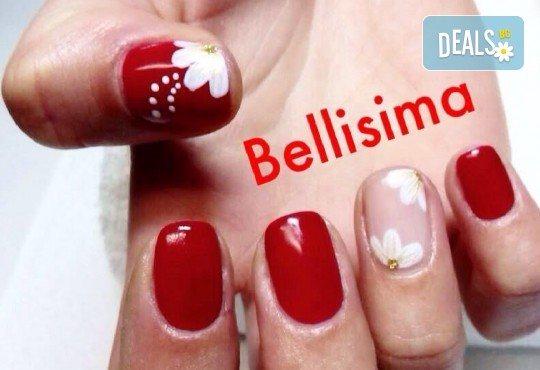За дълги, здрави и изящни нокти! Изграждане с гел във форма по желание на клиента от салон за красота Bellisima! - Снимка 3