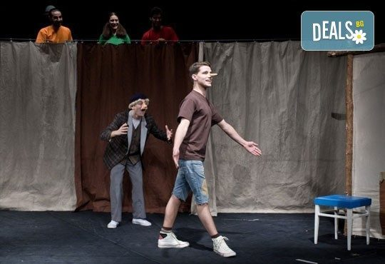Каним Ви на театър с децата! Гледайте Пинокио в Младежки театър, Голяма сцена на 19.03, от 11:00 ч., един билет - Снимка 8