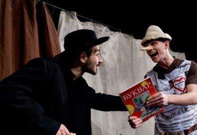 Каним Ви на театър с децата! Гледайте Пинокио в Младежки театър, Голяма сцена на 19.03, от 11:00 ч., един билет - Снимка