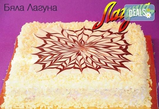 За всеки вкус! Вземете торта по избор от предложените плюс свещички, надпис и кутия от Лагуна! - Снимка 4
