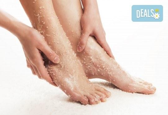 Релаксиращ масаж Листа, носени от вятъра, рефлексотерапия на стъпала и светлинна терапия с хималайска сол от Лаура стайл! - Снимка 2