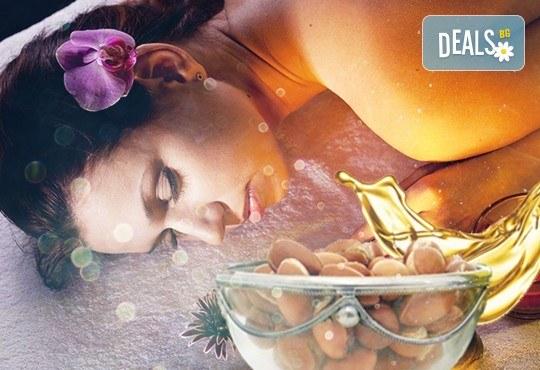 Възползвайте се от древните ритуали за красота! Тонизиращ масаж Тайната на Клеопатра с арган и злато от Лаура стайл! - Снимка 1