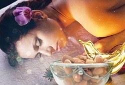 Възползвайте се от древните ритуали за красота! Тонизиращ масаж Тайната на Клеопатра с арган и злато от Лаура стайл! - Снимка