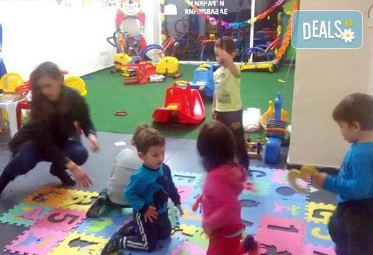 Детски рожден ден за 10 деца! 2 часа лудо парти с украса, парче пица, детски фитнес уреди, музика, възможност за аниматор Елза в Зали под наем Update - Снимка 10