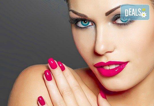 Добавете цветен и модерен акцент за красиви ръце с класически маникюр с лаковете на Golden Rose в Салон Виктория! - Снимка 1