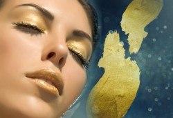 Golden Therapy за лице - енергизираща и витализираща терапия със злато с лифтинг ефект и висок клас професионални продукти в Relax Beauty - Снимка