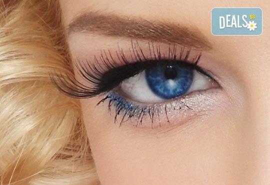 Фатален поглед! Удължаване и сгъстяване на мигли косъм по косъм в Marbella Beauty Studio! - Снимка 1