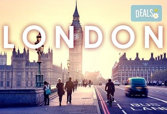 Самолетна екскурзия до Лондон с дати по избор до август: 3 нощувки със закуски в хотел 2* или 3* по избор, самолетен билет с включени летищни такси! - Снимка 1