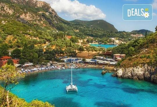 Ранни записвания за море на остров Корфу! 4 нощувки със закуски и вечери в хотел 3*, гръцка вечер с богата програма, транспорт и водач, томбола с подаръци в автобуса - Снимка 3