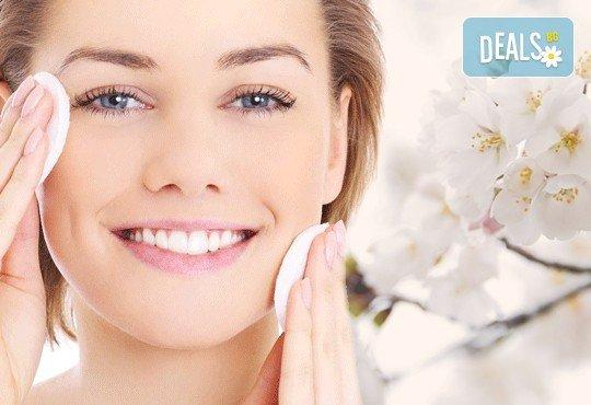 Погрижете се за Вашата чиста и здрава кожа с дълбоко почистване на лице с професионални козметични продукти GLORY от MAKRATI Hair and Beauty! - Снимка 1
