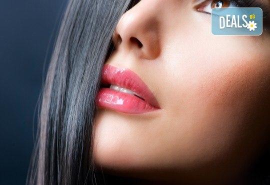 1 или 4 процедури за уголемяване на устни със 100% хиалуронова киселина и ултразвук в салон за красота Респект - Снимка 2