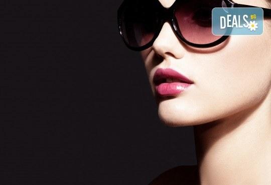 1 или 4 процедури за уголемяване на устни със 100% хиалуронова киселина и ултразвук в салон за красота Респект - Снимка 1