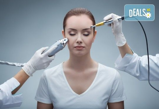 Почистване на лице с ултразвук и кислородна терапия или терапия с ботокс ефект, безплатна консултация и диагностика на кожата на лицето! - Снимка 1