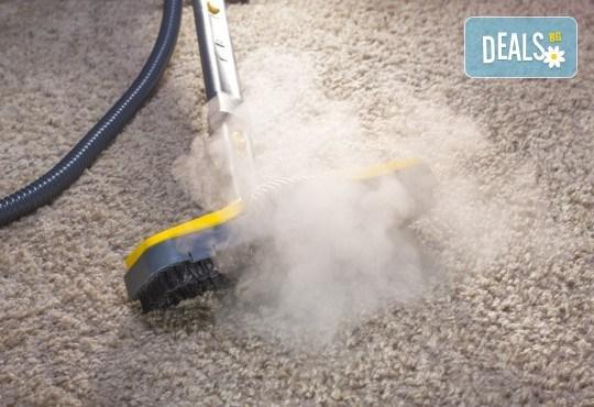 Екологично почистване! Био пране на мокет до 35 кв. м професионален екстрактор от Фаст Клийн Био! - Снимка 2