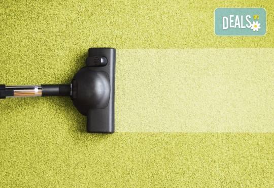 Екологично почистване! Био пране на мокет до 35 кв. м професионален екстрактор от Фаст Клийн Био! - Снимка 1