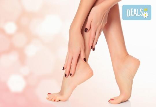 Радвайте се на нежна и мека кожа на краката с пилинг маска за крака за регенерирана, гладка и здрава кожа от Нет Стор! - Снимка 1