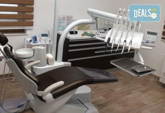 Лечение на зъбен кариес и фотополимерна пломба от висококачествен фотополимер в стоматологична клиника д-р Георгиев - Снимка 5