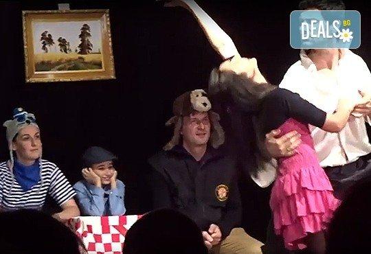 """Гледайте комедията """"Чичо Фьодор"""" по Едуард Успенски, на 21.03. от 19 ч.,Театър Виа Верде, на сцената на Сълза и Смях, камерна зала - Снимка 2"""