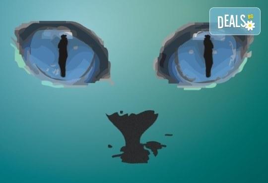 """Гледайте Котката със сините очи на 31.03, от 19:00 ч, в """"Нов театър"""" в НДК, билет за един! - Снимка 1"""