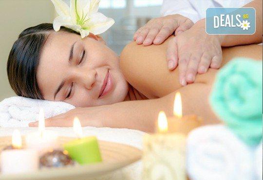 СПА микс! Комбиниран масаж на тяло с елементи на тайландски масаж, ломи ломи и точков масаж на стъпала и длани, в Салон за красота Beauty Zone! - Снимка 1