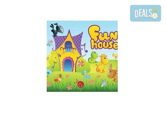 Детски празник за 10 или 15 деца! 2 часа парти с украса, аниматор, бургер с филе и чедър, сокче за всяко дете и кетъринг за възрастните от Fun House! - Снимка 4