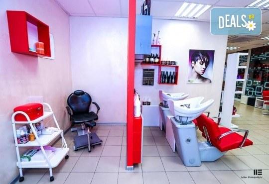 С чисто нова визия! Боядисване с боя Alfaparf, подстригване или оформяне със сешоар в новия салон за красота Венера, бул. Сливница - Снимка 9