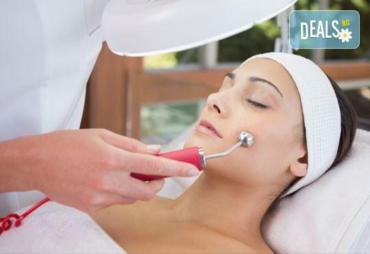 Диамантено дермабразио,вливане на ампула с комплекс по избор, чрез ултразвукова 23K златна лъжица, маска за лице от Skin Care Optima съвместно с Холистик СПА! - Снимка 1