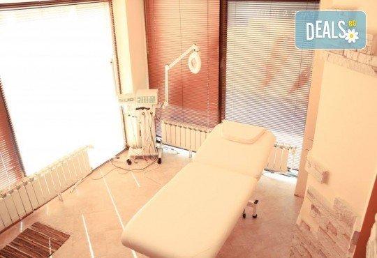 Диамантено дермабразио,вливане на ампула с комплекс по избор, чрез ултразвукова 23K златна лъжица, маска за лице от Skin Care Optima съвместно с Холистик СПА! - Снимка 4