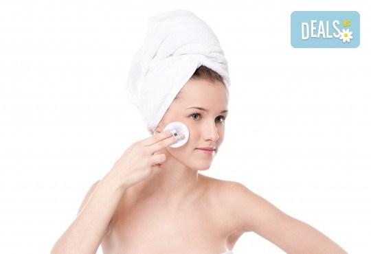 Мануално почистване на лице в 5 стъпки от студио за красота Five! - Снимка 1