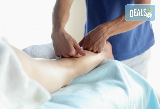 60 минути мануален лимфодренажен масаж и масаж на глава и лице от салон Цветна светлина - Снимка 1