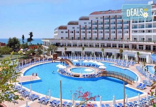 Почивка в Анталия през април или май! 7 нощувки на база All Incl в Side Prenses Resort Hotel & Spa 5*, билет, летищни такси и трансфери! - Снимка 10