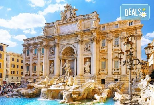 Майски празници в Рим, с Караджъ Турс! 3 нощувки със закуски в хотел 3*, обслужване на български език, билет с летищни такси, трансфери - Снимка 1