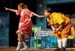 Гледайте с децата! Карлсон, който живее на покрива в Младежки театър, Голяма сцена на 09.04. от 11 ч. - Снимка